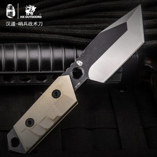 HX OUTDOORS D-168 AUS-8 Blade Survival Tactical Fixed Knife Outdoor Camping Hunting Multi-function bushcraft knifves
