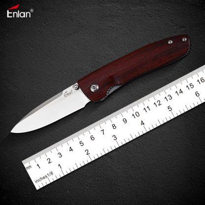 Enlan M028 8Cr13Mov Folding Knife liner lock knife
