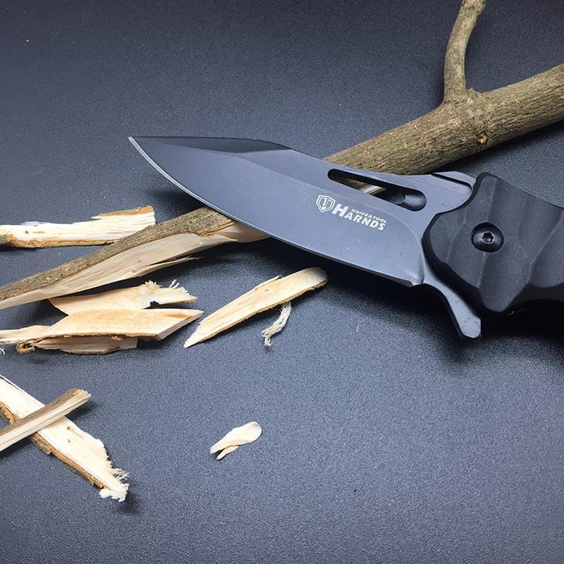 Harnds CK6115 CK6115A Conch Folding Knife Harnds CK6115 CK6115A Conch Folding Knife 8Cr14MoV