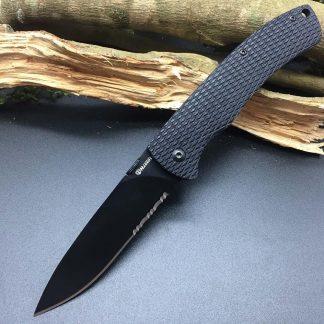 Harnds CK6016 Black Mamba Folding Knife 9Cr18MoV Blade G10 Handle Super Military bushcraft knife Utility EDC Tool