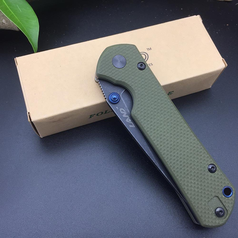 Sanrenmu Land 9106 12C27 Blade G10 handle Folding Knife Outdoor Hunting Camping Survival Utility EDC Pocket Tool Super Cutting Kitchen Knives