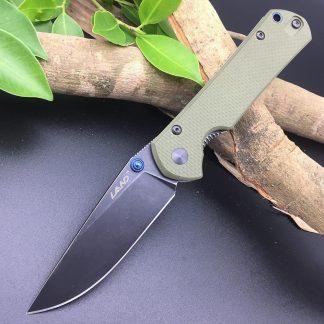 Sanrenmu Land 9106 12C27 Blade G10 handle Folding Knife Outdoor Hunting Camping Survival Utility EDC Pocket Tool Super Cutting Kitchen Knives