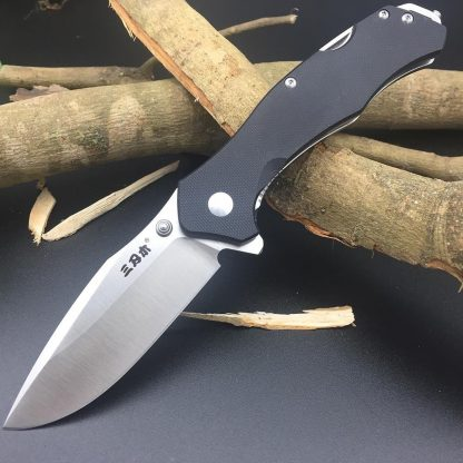 Sanrenmu 9018 12C27 Blade Folding Knife G10 Handle Outdoor Hunting Camping Survival Utility EDC Pocket Tool Kitchen multitool knife