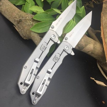 Sanrenmu 9002 12C27 Blade G10 Handle Folding Knife Outdoor Hunting Camping Survival Tactical Super Military Pocket EDC Knives Portable Tools